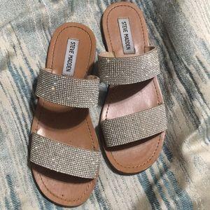 372eb5ada753 Steve Madden Shoes - Steve Madden Rage Embellished Slide Sandal